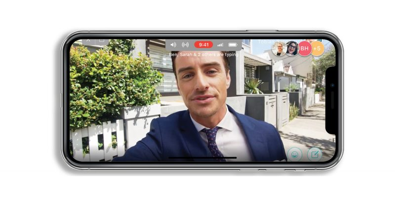 Live-streaming, purpose built for Real Estate